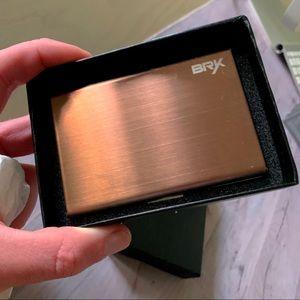BRYX Accessories - BRYX Mens Metal (Steel) Walet